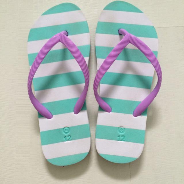 澳洲購入 女童拖鞋 女孩款 海灘拖鞋 夾腳拖鞋 30-31