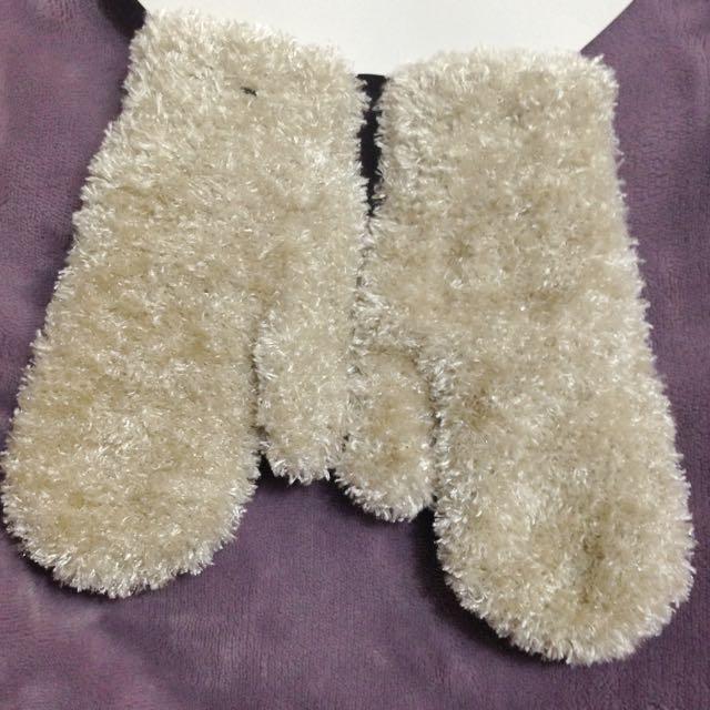 寶寶 兒童 手套 亮亮毛毛