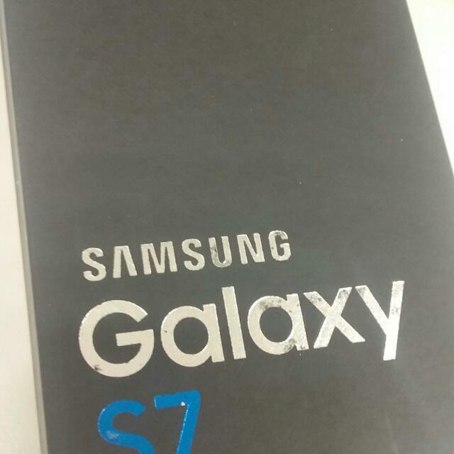 三星 Samsung S7 全新未拆附購買證明