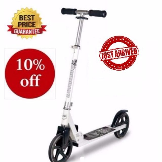 Adult scooter / Adult kick scooter / kick scooter / 2 wheels scooter / 2wheels kick scooter / Value for money / Kick bike / Adult Sports / Scooter / Scootering / Adult outdoor sports / Extreme Sports