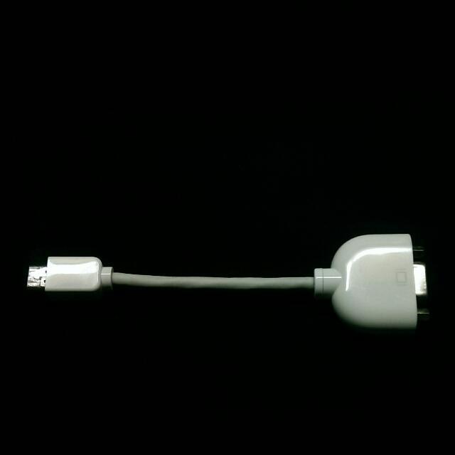 Apple 蘋果 VGA 轉接頭 轉接線
