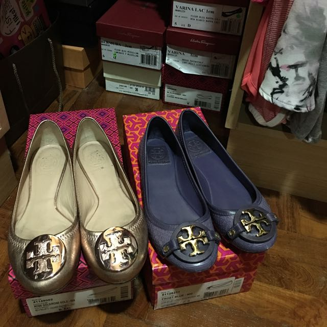 49b2673c1c7 Authentic Tory Burch Shoes Flats Clearance Sale!