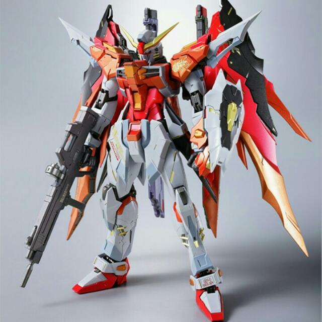 行版Bandai Metal Build Destiny Gundam Heine 命運高達 海涅機