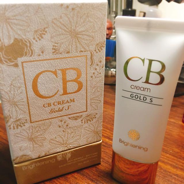 CB Cream Gold S 裸妝美白神奇