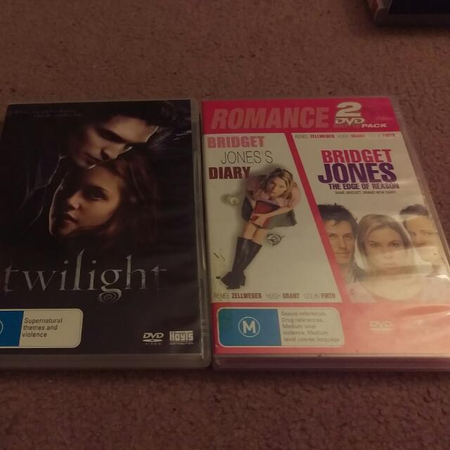 DVD Romance Bundle #2