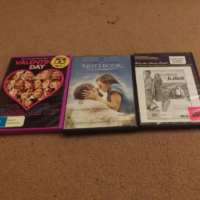 DVD Romance Bundle #3