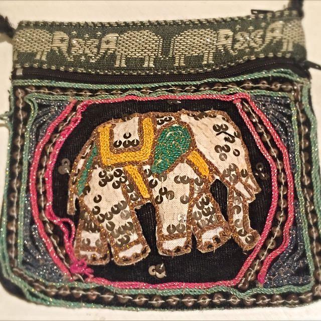 Elephant Sequence Bag