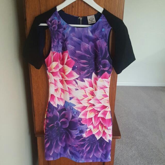 Floral Print Angel Biba Dress SIZE 8