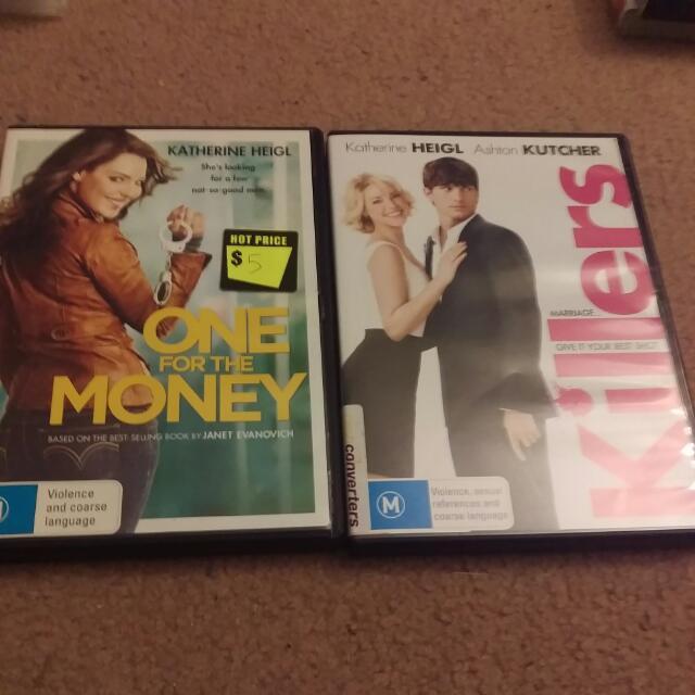 Katherine Heigl DVD bundle