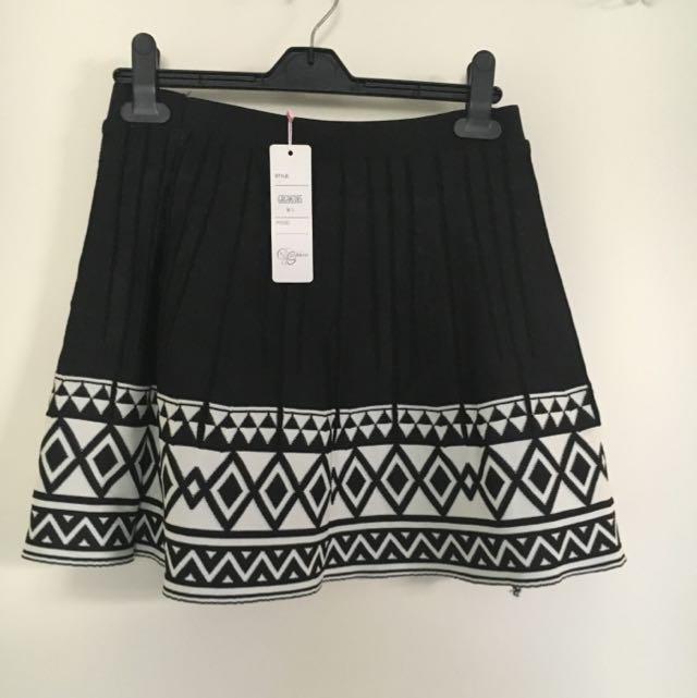 Knit Type Skirt