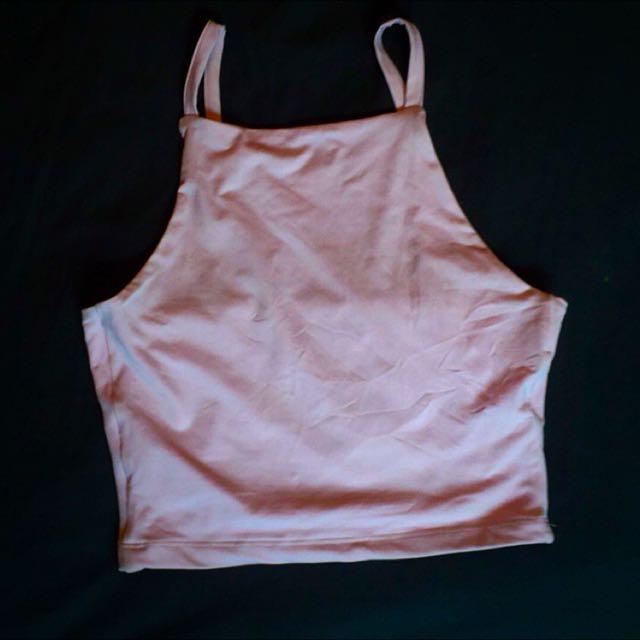 Kookai Crop Size 1 Baby Pink
