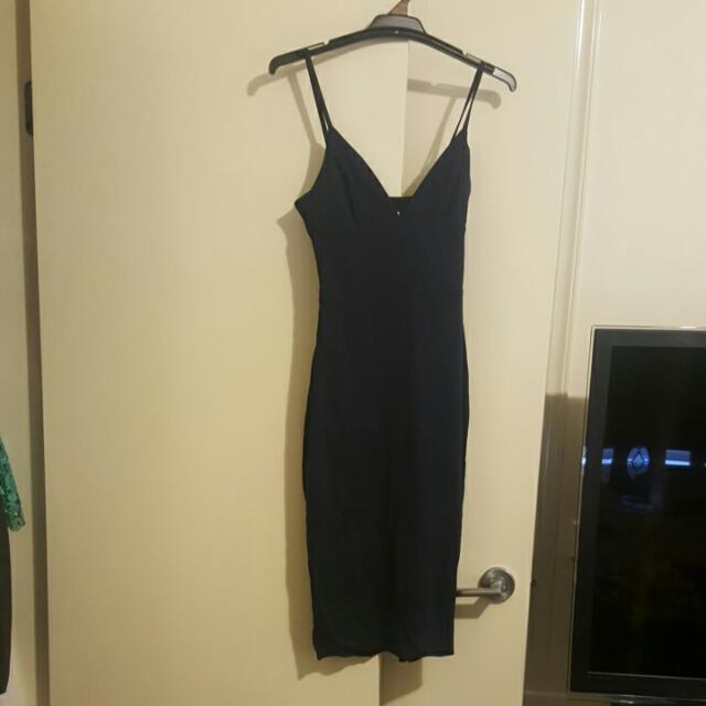 Kookai Size 1 Dark Blue Dress