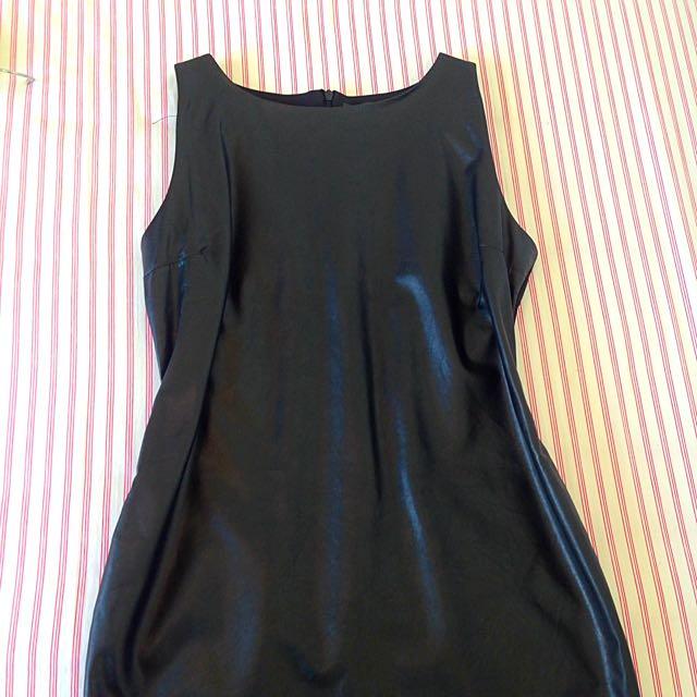 Leather Dress