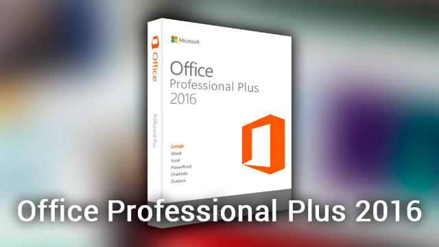 cost of microsoft office professional plus 2016