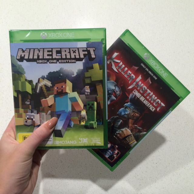 Minecraft & Killer Instinct Xbox Game