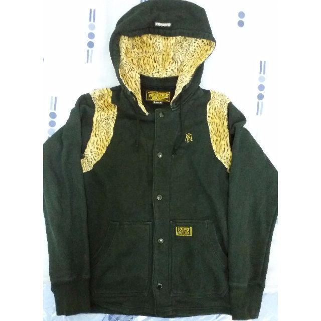 NEIGHBORHOOD 經典 豹紋 雙槍 連帽外套