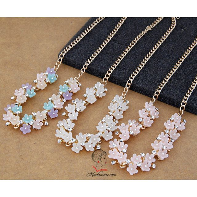 (NEW) Flower Necklace