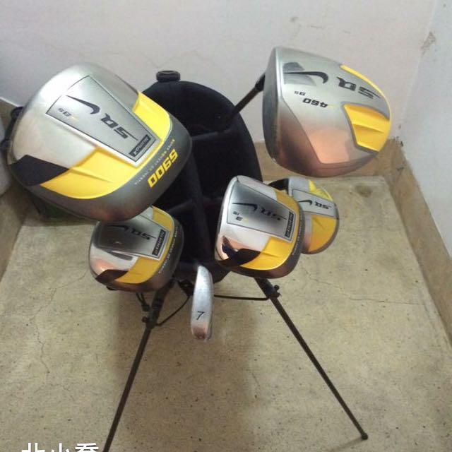 NlKE SQ系列四支高爾夫球組