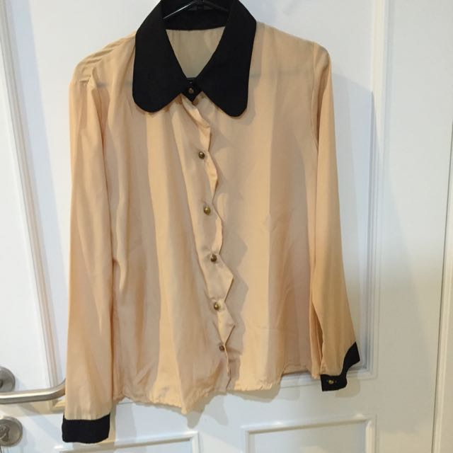 No Brand Collar Shirt