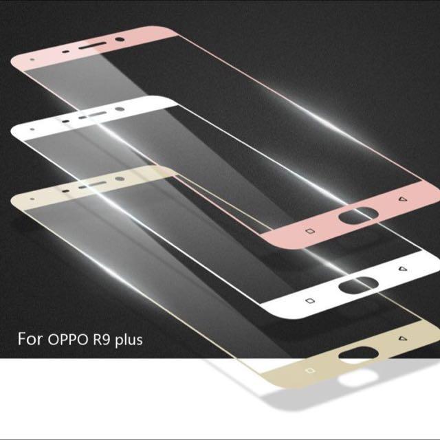 OPPO R9 / R9 PLUS 9H 超薄弧邊鋼化玻璃貼 玻璃 保護貼 鋼化 玻璃膜