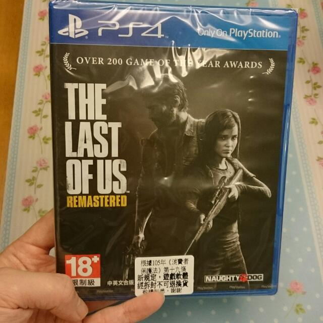 PS 4 遊戲  最後生還者 中英合版(價錢含運)