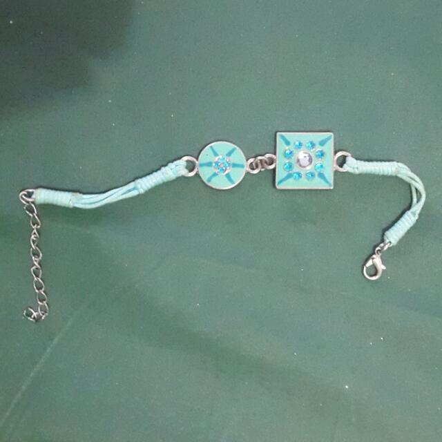 Simple Tiffany Blue Pastel Bracelet Gelang Aksesoris Accesories