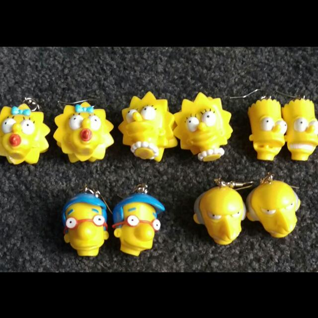 Simpson's Earrings!