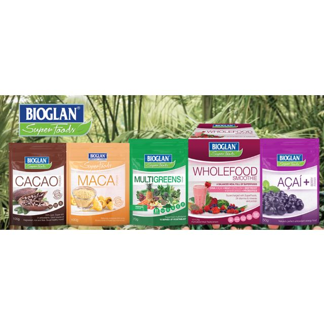 Superfoods - Bioglan (More than 50% off for some products)