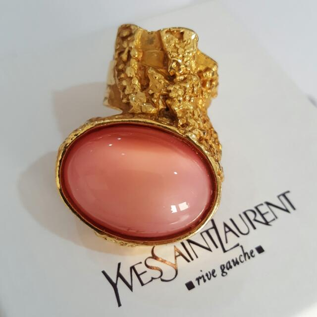 52b75bc6e019 Yves Saint Laurent - Arty Ring Coral Gold (Pink)