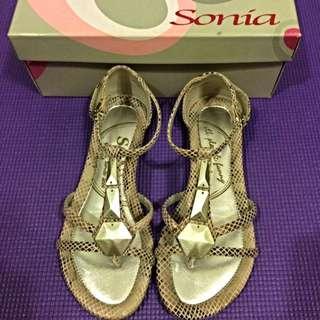 《夏出清》Sonia超時尚蛇紋涼鞋