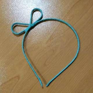 Turquoise Ribbon Shape Headband