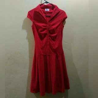 D.J. Red Dress