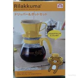 拉拉熊咖啡壺