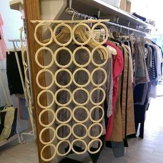 Ikea圈圈圍巾領帶收納架