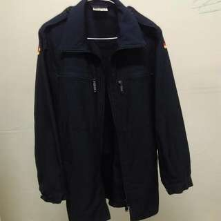 德軍公發軍用夾克 一黑一藍
