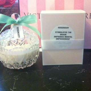 Aromatherapy Candle ROSEMARY-boost Concentration And Relaxes Nerves