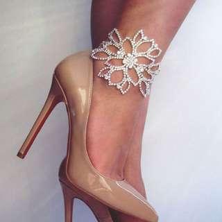 🆕Silver Plated Crystal Bracelet/Anklet