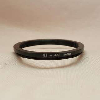 Astron 52mm To 46mm Step Down Ring Or Adapter 52 To 46
