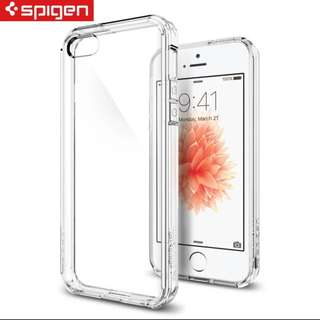 Spigen SGP iPhone SE/5S/5 Crystal Shell 透明防撞手機保護殼