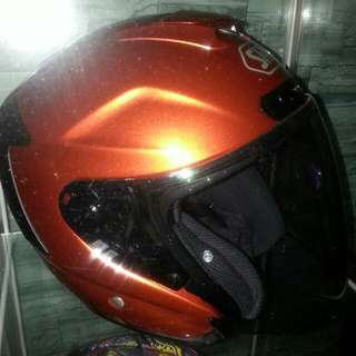Shoei JF4 Tangerine L (Can Fit XL Also)