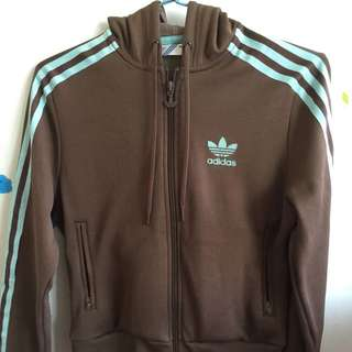 🚚 Adidas 復古經典款短版運動外套