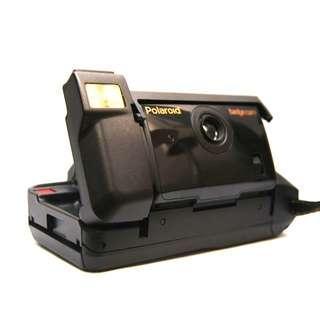 Polaroid 寶麗來 拍立得相機  折疊式 使用95型底片 badge cam