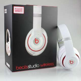 Genuine Dr. Beats Studio Wireless Headphone