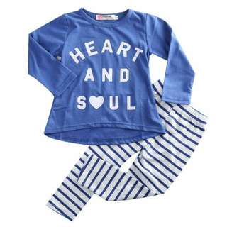 ✔INSTOCK Kid's Clothing 2psc Kids Set