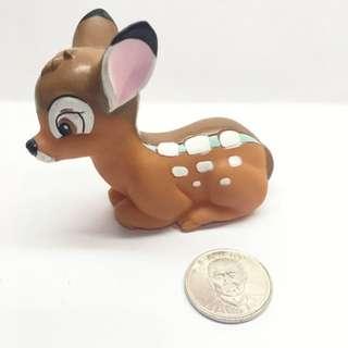 迪士尼 軟乙烯基 玩具 小鹿斑比