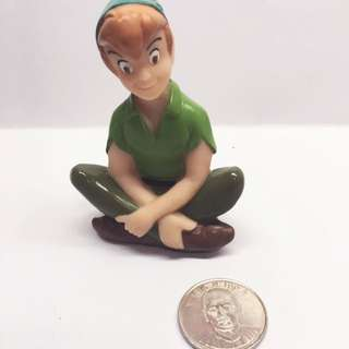 (售完)迪士尼 軟乙烯基 玩具 小飛俠彼得潘