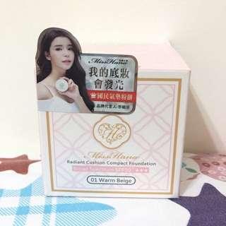 Miss Hana 光透無瑕氣墊粉餅 01自然色