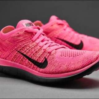 正品Nike Free 4.0赤足跑鞋 慢跑鞋