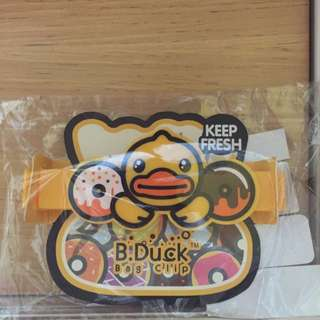 B Duck Bag Clip