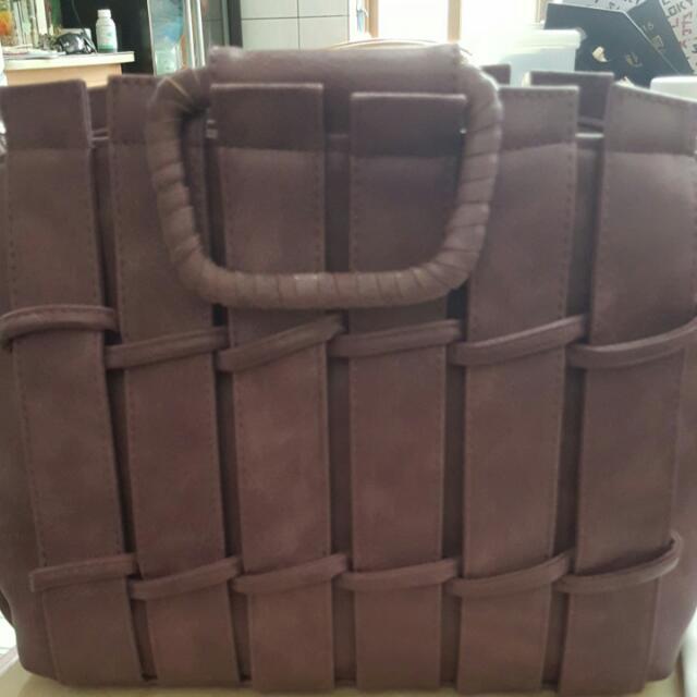 紫色手拿包